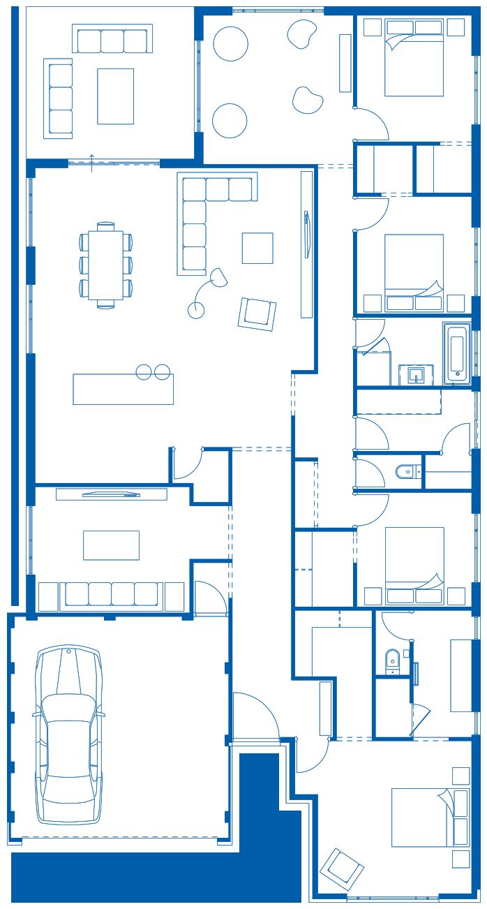 Floorplan to plan your smart air conditioning zones
